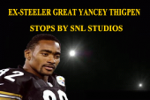 STEELER GREAT WIDE RECEIVER YANCEY THIGPEN