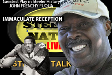 JOHN FRENCHY FUQUA  MEMBER OF THE GREATEST PLAY IN STEELER HISTORY! ( THE IMMACULATE RECEPTION)