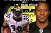 STEELER GREAT RB FAST WILLIE PARKER STOPS BY SNL1933