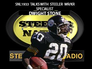 WR/KR SPECIALIST DWIGHT STONE STOPS SNL1933 STUDIOS