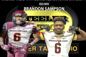 D2 MIDWESTERN STATE UNIVERSITY SPEED BURNER BRANDON SAMPSON STOPS BY SNL1933