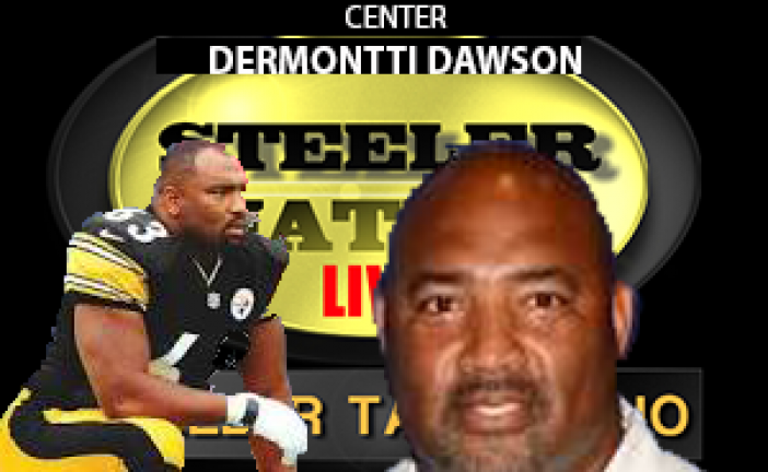 HALL OF FAMER STEELER CENTER DERMONTTI DAWSON STOPS BY SNL1933 STUDIOS