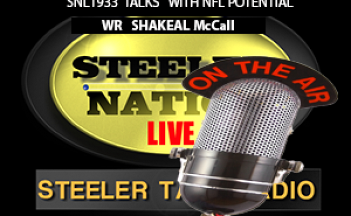 WR SHAKEAL McCALL STOPS BY SNL1933 and TALKS LIFE AND FOOTBALL